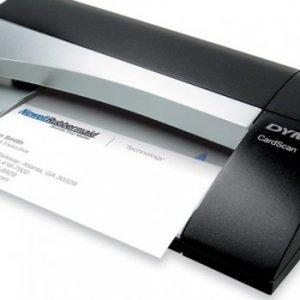 how to use dymo cardscan executive