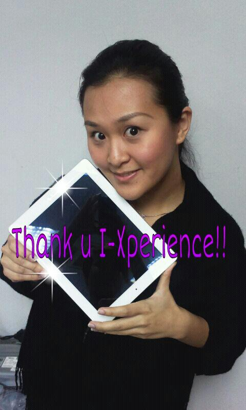 "Congrats to iXperience ""Share and Win"" contest winner 2"