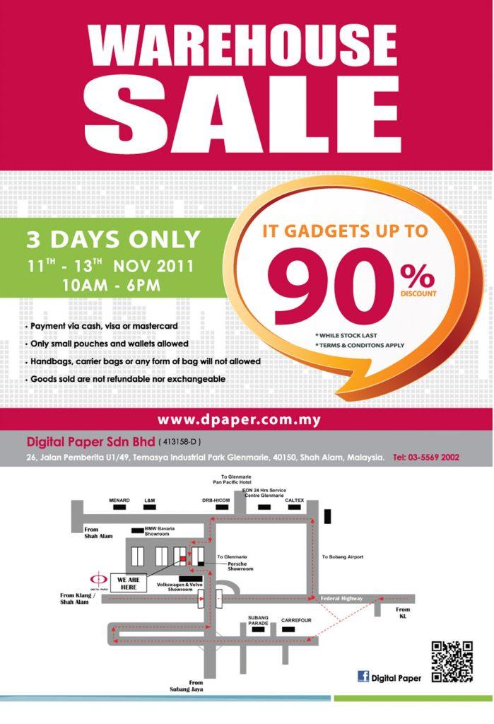 DP Warehouse Sale 1