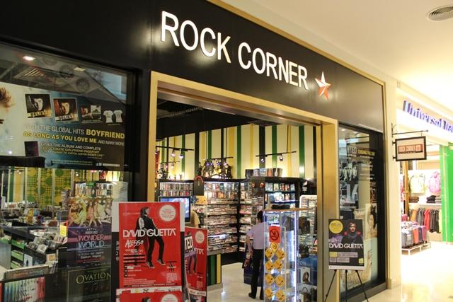Rock Corner @ The Curve