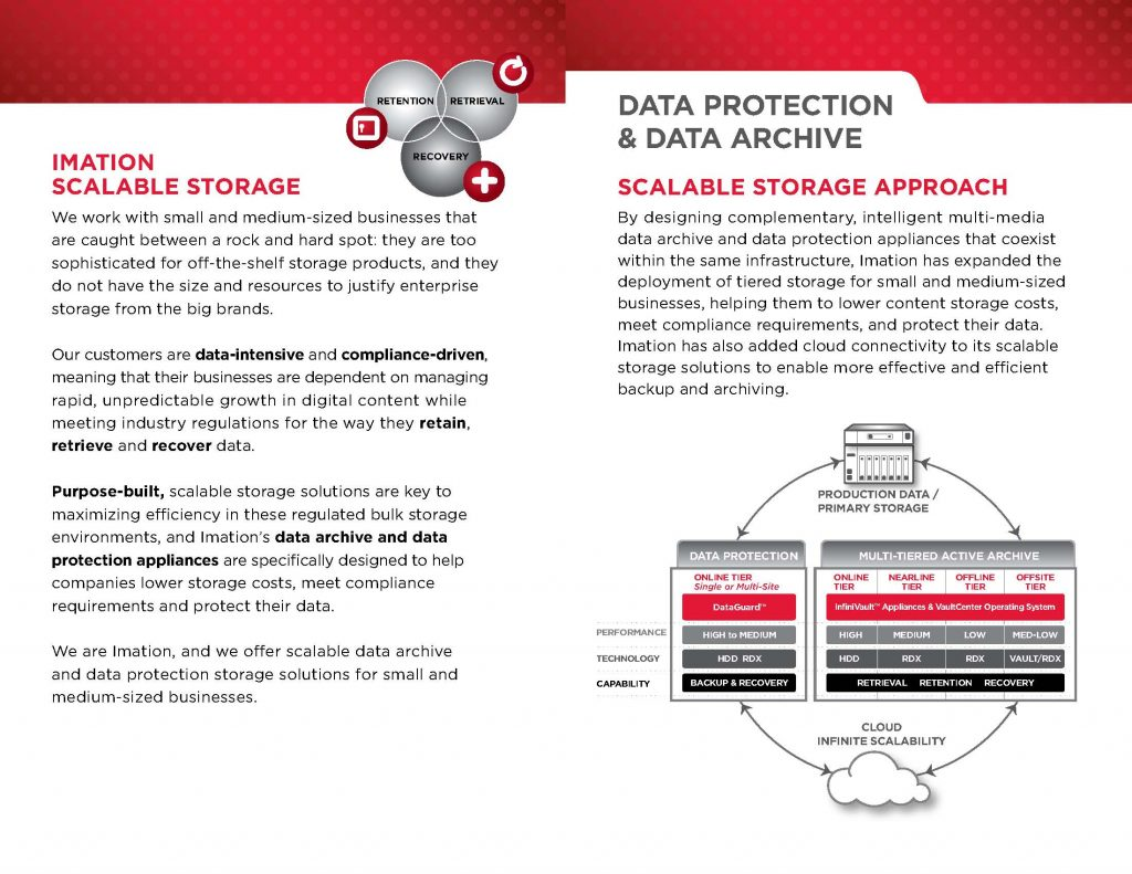 Scalable Storage Solutions Brochure_Page 1
