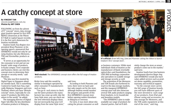 The Star 02042012 - A catchy concept at store 1