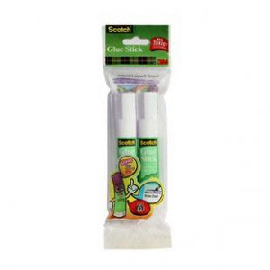Scotch Glue Stick Twin Pack(white and white)