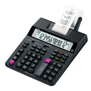 Casio HR-150RC-BK Printing Calculator