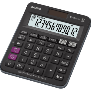 Casio MJ-120DPLUS Check Calculator