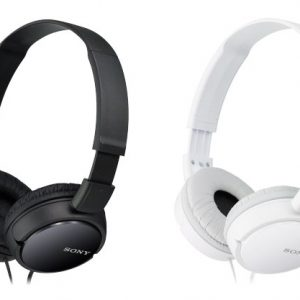 Sony-MDR-ZX110-Headphone-black-white