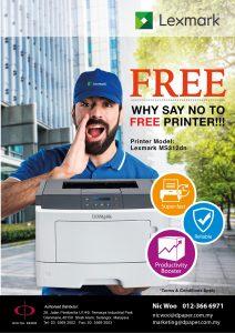 Lexmark FREE printer